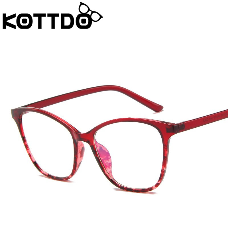 KOTTDO Classic Clear Eye Glasses Frames For Men Vintage  Prescription Women