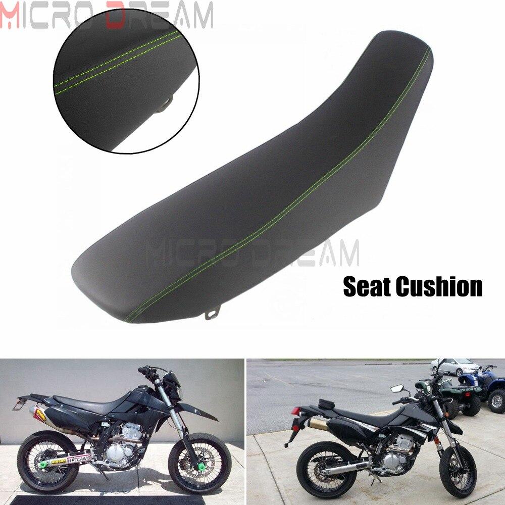 Pour Kawasaki KLX250 2009-2019 moto Dirt Pit vélo conducteur passager arrière coussins de siège doux Motocross noyau de mousse siège noir