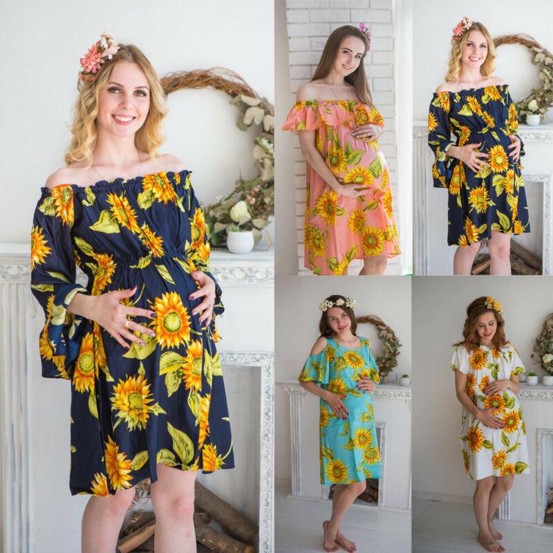 NEW Women Boho Style Dress Off Shoulder Summer Beach Dress Floral Print Vintage Flower Maxi Dress Vestido De Festa in Dresses from Women 39 s Clothing