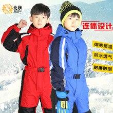 Детский комбинезон; Комплект для всей семьи; лыжная куртка для сноуборда для мальчиков и девочек; Водонепроницаемая зимняя верхняя одежда; зимний комбинезон для мальчиков
