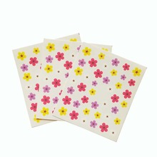 3pcs Water Nail Decal and Sticker Flower Simple Summer Slider for Manicure Art Watermark Tips E12*3