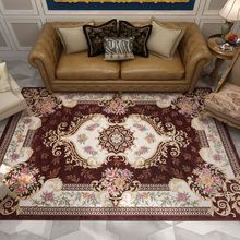 Europe Palace Jacquard Carpet Livingroom Home Bedroom Carpet Classical Rug For Sofa Coffee Table Study Room Floor Mat Kids Rugs(China)