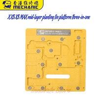 Mechanic mr3 3 in 1 중층 심기 주석 플랫폼 정사각형 필렛 자동 위치 결정 iphonex xs xs max 휴대 전화 re 전동 공구세트    -