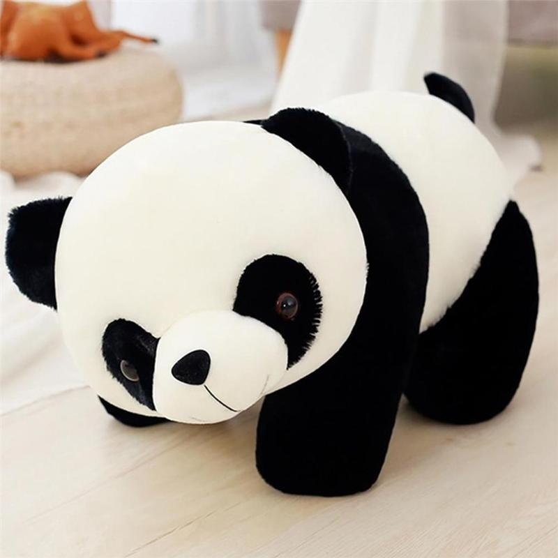 1pc 25cm/35cm/45cm/60cm Lovely Panda Doll Soft Plush Stuffed Animal Toys Panda Pillow Pad Fashion Panda Doll For Children Gifts