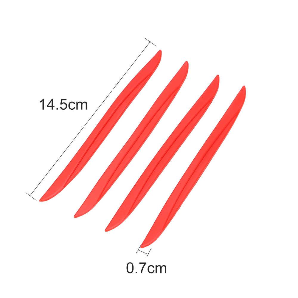 FORAUTO 4 PCS/Set Mobil Pintu Edge Protector Pelindung Strip Kaca Spion Anti Gores Stiker Bumper Mengikis Penjaga Mobil-styling