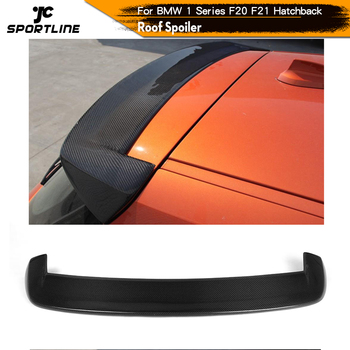 Carbon Fiber / FRP Car Roof Rear Spoiler Lip Window Wing for BMW 1Series F20 F21 2012 - 2018