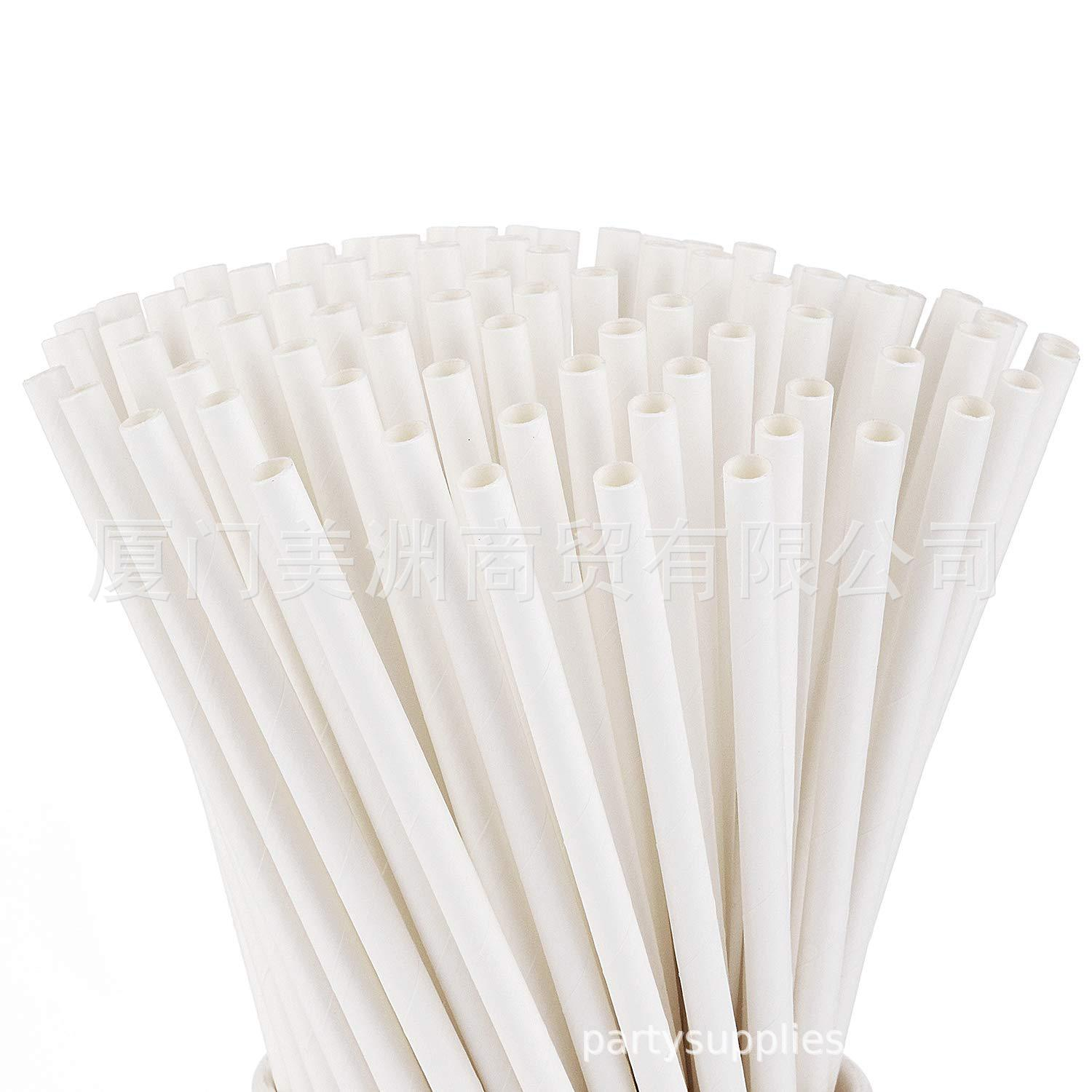 Europe And America Paper Originality Straw Disposable Paper Straw Manufacturers Environmentally Friendly Biodegradable Pure Whit