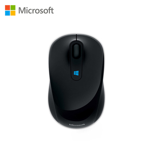 Microsoft Sculpt Mobile Mouse 2.4GHz Wireless Tech Portable Four-way scrolling for laptop pc office home mouse