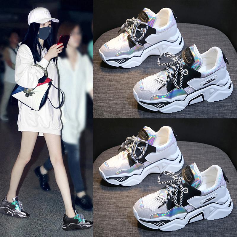 Mesh Style Transformer Sneakers 5