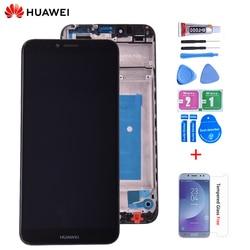 5.7 cal dla Huawei Y6 2018 ATU L11 ATU L21 ATU L22 ATU LX3 dla Y6 Prime 2018 ekran lcd + montaż digitizera ekranu dotykowego w Ekrany LCD do tel. komórkowych od Telefony komórkowe i telekomunikacja na