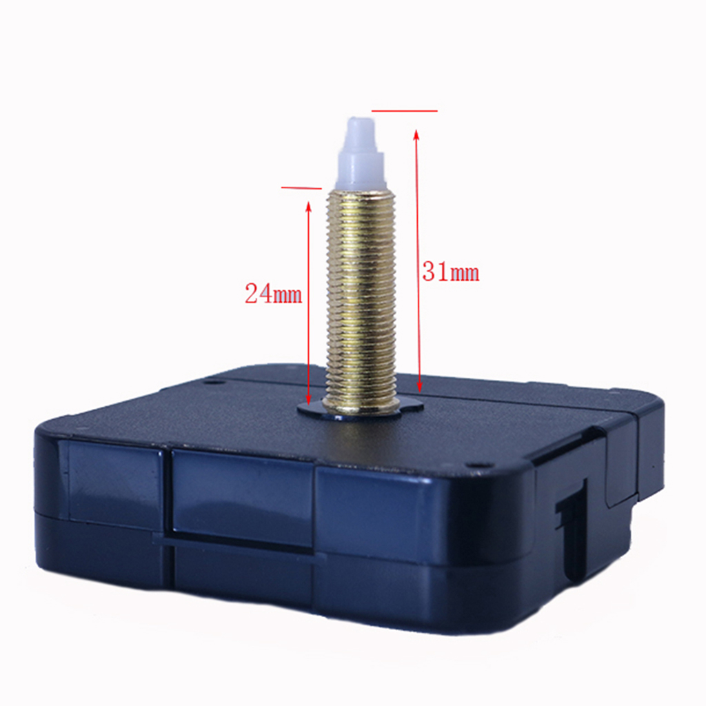 Black Quartz DIY Silent Wall Clock Movement Mechanism Repair Accessories Kit in Repair Tools Kits from Watches