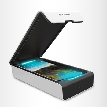 USB Chargeable UV Sterilizer Box with Aromatherapy for Mobile Phone Disinfection