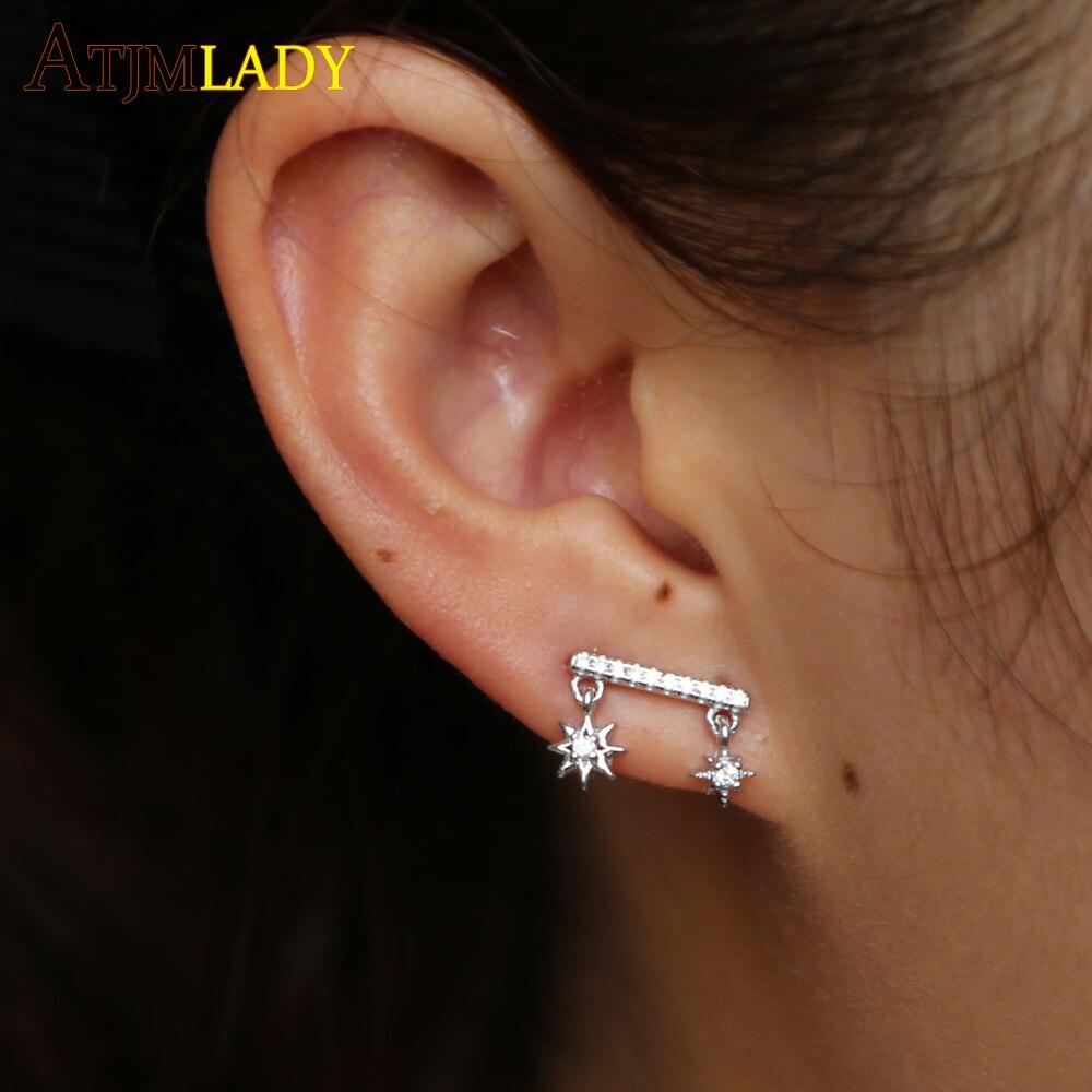 boucle d'oreille cartilage argent