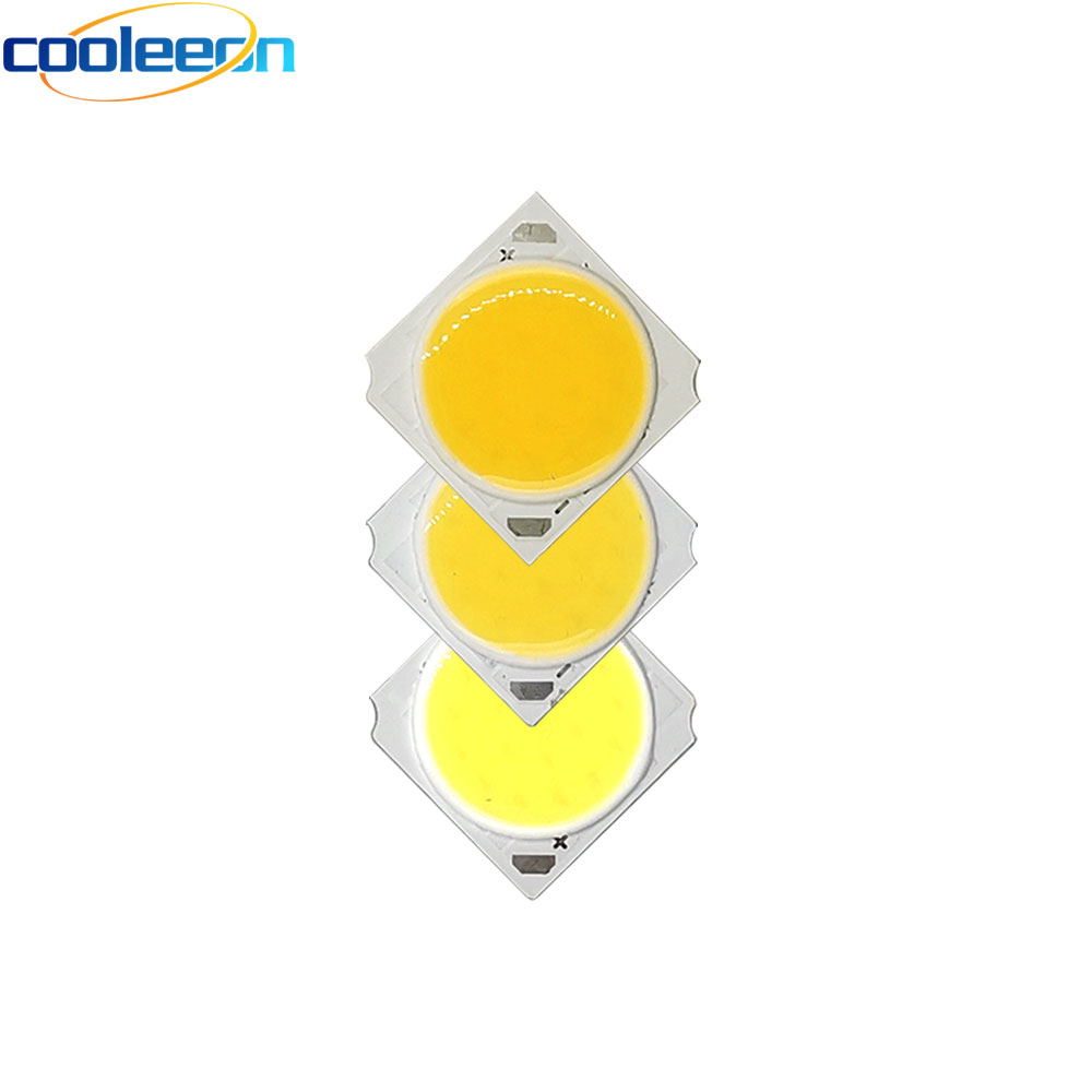 5pcs 19MM COB 10W 30W Led Cob Light Source Chip 300mA 900mA Side Spot Lights Chip On Board Bulb Ceiling Spotlight Lamp LIGHTING
