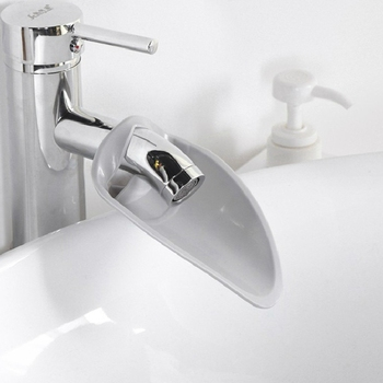 Bathroom Faucet Extender Faucets Water Nozzle Guide Device Baby Vane Hand Washing Sink Device Kitchen Bathroom Tools image