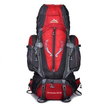 Hot  Large 85L Outdoor Backpack Unisex Travel Multi-purpose climbing backpacks Hiking big capacity Rucksacks camping bag 1