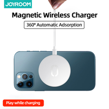Magnetyczna ładowarka do iPhone 12 12 mini 12 pro 12 pro max bezprzewodowa ładowarka szybka ładowarka do Huawei XiaoMi ładowarka bezprzewodowa Qi tanie tanio Joyroom Z kablem Typ C CN (pochodzenie) Apple iphone JR-A28 Magnetic wireless charger PC+ABS 5V 2 4A 9V 2A 12V 1 5A 60*6mm