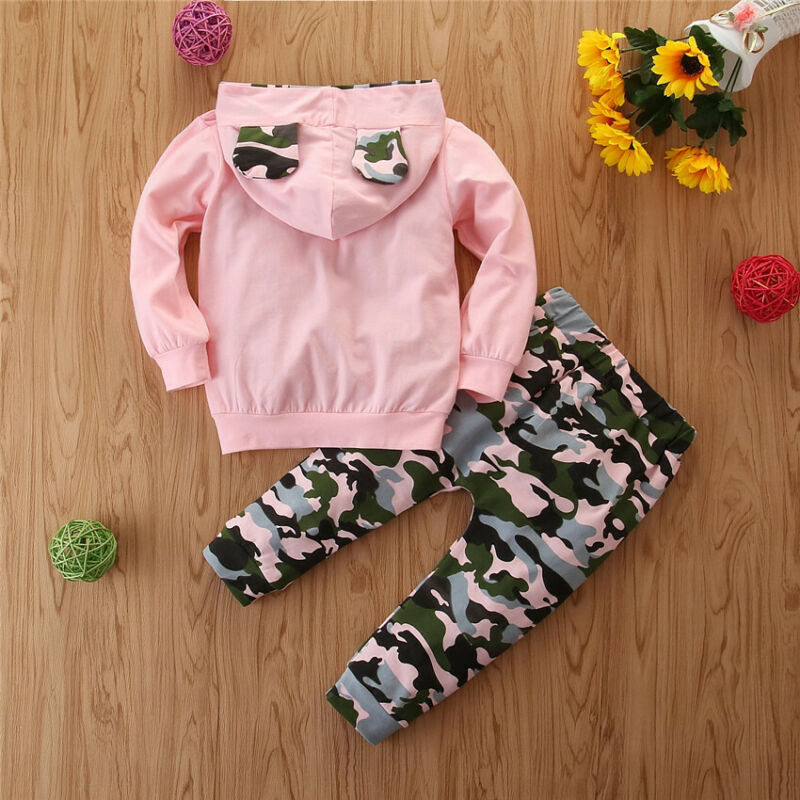 Pudcoco Winter Autumn Toddler Kid Baby Girl Hoodie Top Long Pants Legging Outfit Clothes 2020 New Fashion Tracksuit 4