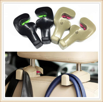 Car Shopping Bag Holder Seat Hook Hanger For BMW all series 1 2 3 4 5 6 7 X E F-series E46 E90 F09 Scooter Gran i8 Z4 X5 X4 image