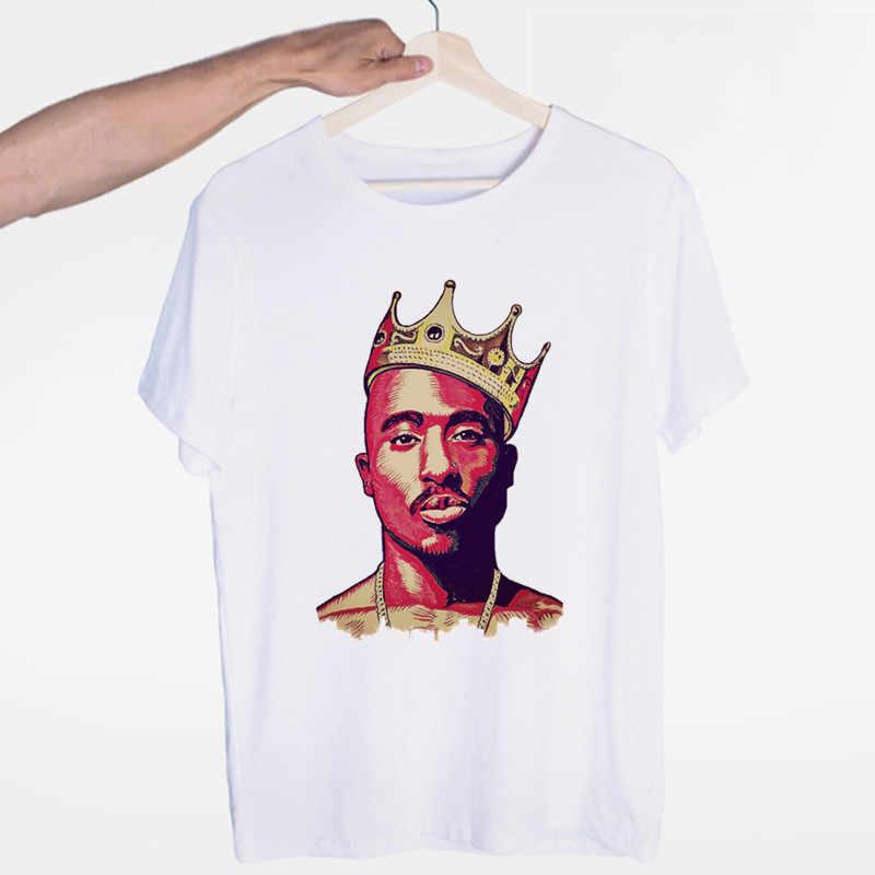 Männer der Tupac 2pac Hip Hop Swag Streetwear T-shirt Oansatz Kurzen Ärmeln Sommer Lässige Mode Unisex Männer und Frauen T-shirt