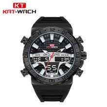 Reloj  2019 KAT-WACH Genuine Hot Sports Digital Wristwatches Mens Fashion Waterproof Swimming Diving Quartz