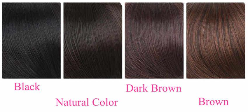 Auréola senhora beleza pixie humano franja cabelo de uma peça coroa grampo de cabelo em peças de cabelo acima da sobrancelha franja cabelo barzilian não-remy