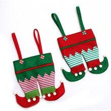 Christmas decorations Christmas spirit bag new Candy Bag San