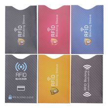 10Pcs Anti Theft for RFID Credit Card Protector Blocking Cardholder Sleeve Skin Case Covers Protection Bank
