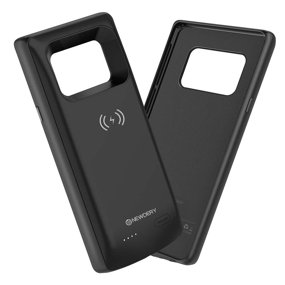 NEWDERY 10000mAh Аккумулятор Чехол для Samsung note 9 S20 Plus Qi беспроводной банк питания чехол для Samsung Galaxy S10 plus S20 + черный
