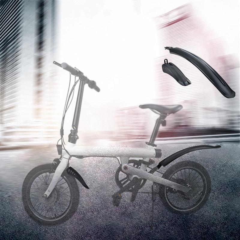 Spor ve Eğlence'ten çamurluklar'de Bisiklet lastiği sıçrama ön arka çamurluk raf Xiaomi Qicycle EF1 elektrikli bisiklet aksesuarları title=