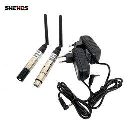 Dmx512 dmx dfi dj sem fio sistema receptor ou transmissor 2.4g para led luz de palco led 300m controle