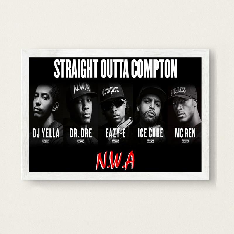 Dre - Dr Eazy-E Straight Outta Compton Movie Poster 24x36 Ice Cube v2