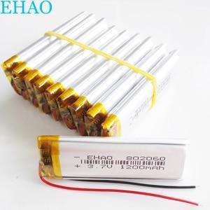 10 pcs 802060 3.7V 1100mAh Lit
