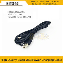 Game Data Sync Charge Charing USB Power Cable Cord Charger Cables For Nintend New 3DS XL DS i ND-SI Gaming Accessor