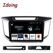 """Idoing 10.2 """"車のandroidラジオマルチメディアヒュンダイcreta IX25 ix25 2014 4 グラム + 64 グラムオクタコアgpsナビゲーションなし 2din dvd"""