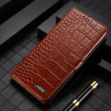 Genuine Leather Flip case for Samsung galaxy S20 S21 Ultra S20 FE S8 S9 S10 Plus Note 20 10 9 A50 A71 A51 A52 A72 M31 Card Slot