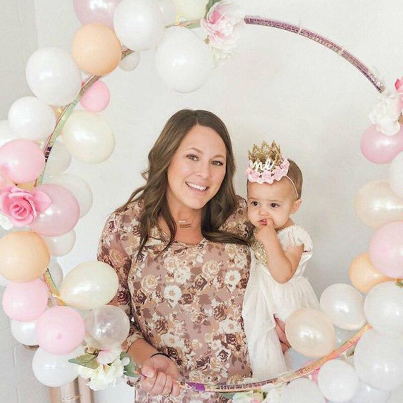 Пластиковое кольцо, арка, рамка, шары, венок «сделай сам», бант, свадебное украшение для будущей мамы, ободок, гирлянда, Рождественский венок ...