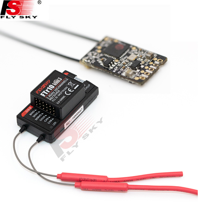 Flysky 2.4G 18CH Radio Transmitte FTr10/FTr16S PPM/BUS/ IBUS Receiver For FS-NB4 FS-PL18 Paladin Rc Transmitter/ Remote Control