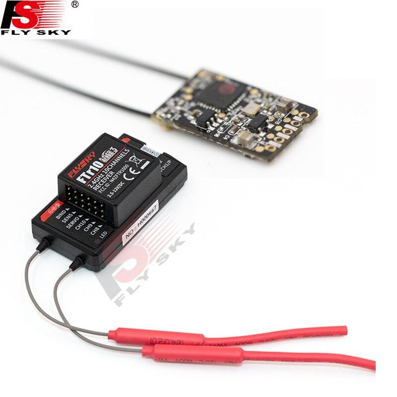 Flysky 2.4G 18CH Radio Trasmettitore FTr10/FTr16S Ppm/Bus/Ibus Ricevitore per FS-NB4 FS-PL18 Paladin Rc trasmettitore/Telecomando