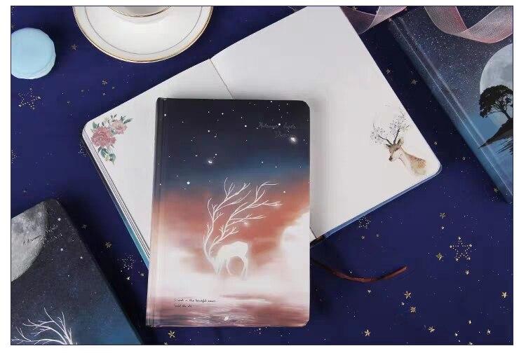 ilustração sonho diário capa dura planejador livro