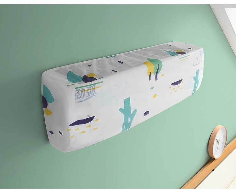 1PC Home Decor Printing Pattern  Air Conditioning Cover Waterproof  Cleaning Cover Anti-Dust Standby Covers