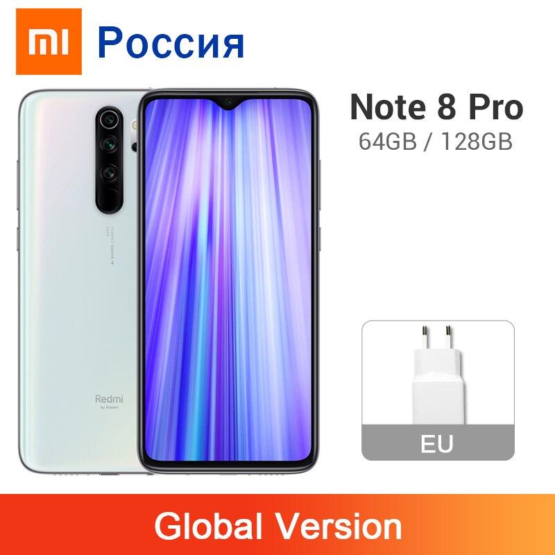Глобальная версия Xiaomi Redmi Note 8 Pro 6 ГБ 64 Гб/128 Гб 64 мп 4 камеры 4500 мАч MTK Helio G90T NFC мобильный телефон жидкостное охлаждение