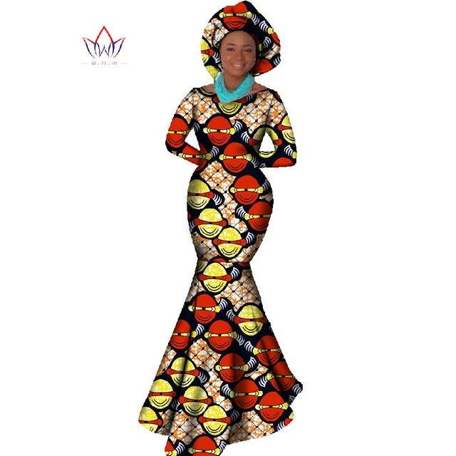 Купить африканская женская одежда платье с длинным рукавом вечернее