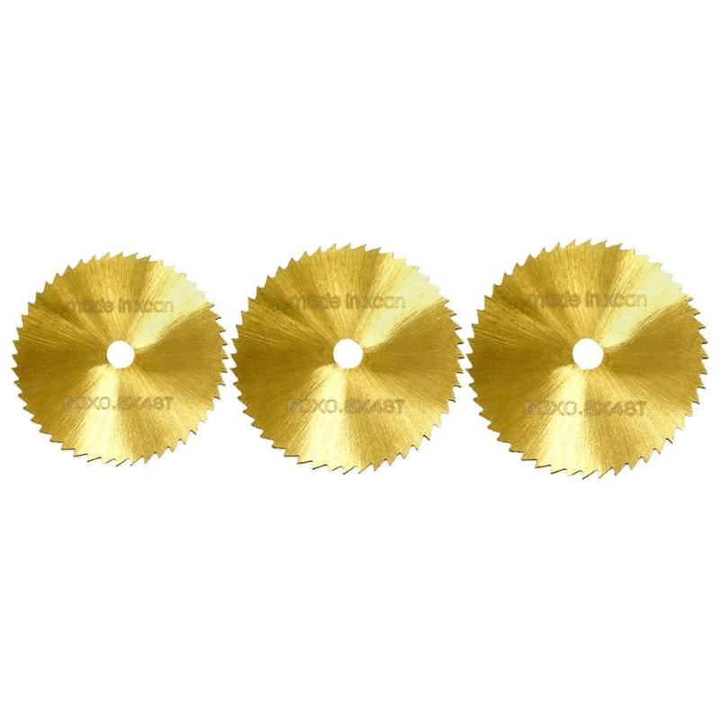 50/60/80mm Small Circular Saw Blades Sawtooth Sharp Labor-Saving HSS High Speed Steel Cutting Discs Woodworking Tools