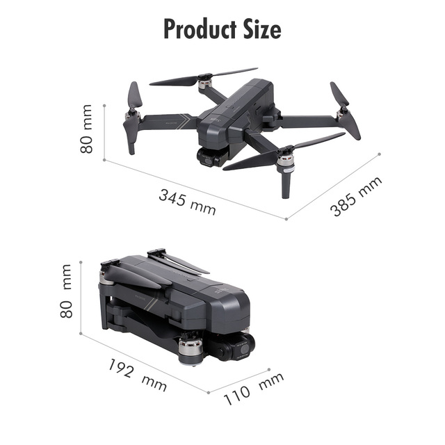 SJRC F11 PRO RC Drone with Camera 4K 2-axis Gimbal Brushless Motor GPS 2