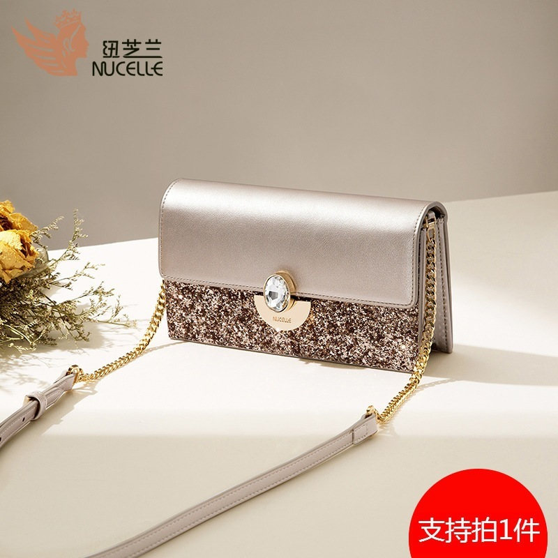 Bag Female 2019 Tide Wild Single Shoulder Oblique Satchel Ck Small Fresh Chain Small Bag