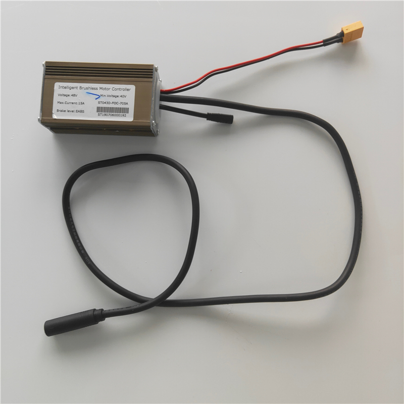 Intelligent Brushless Motor Controller  For Mercane Wide Wheel Electric Scooter 48V 15A Brake Level EABS