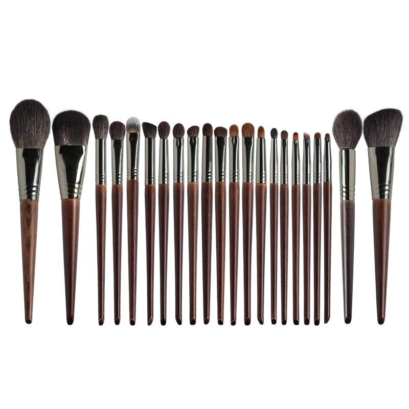 OVW 22/24 PCS Make-Up Pinsel Set Professional Tools Ziegenhaar Pulver Rouge Lidschatten Blending Foundation Kosmetische für Make Up