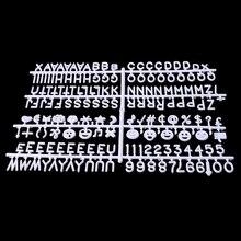 Персонажи для войлочной доски с буквами, 340 шт., цифры со сменными буквами, доска Jy23 19 Droship