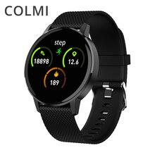 COLMI inteligentny zegarek T4 bransoletka tętno Monitor ciśnienia krwi przypomnienie połączeń Fitness Tracker wodoodporny inteligentny zegarek Android IOS